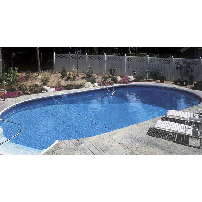 14 X 28 Ft Oval Inground Pool Comple Pool Supplies Canada
