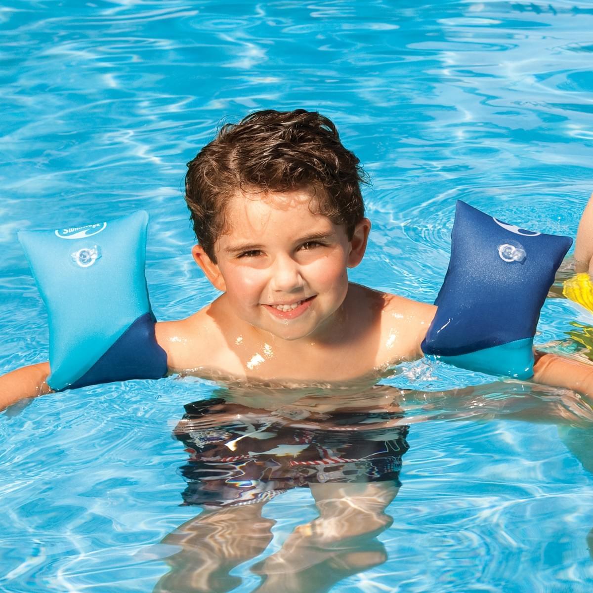 Swimways soft swimmies arm floaties pool supplies canada - Can babies swim in saltwater pools ...