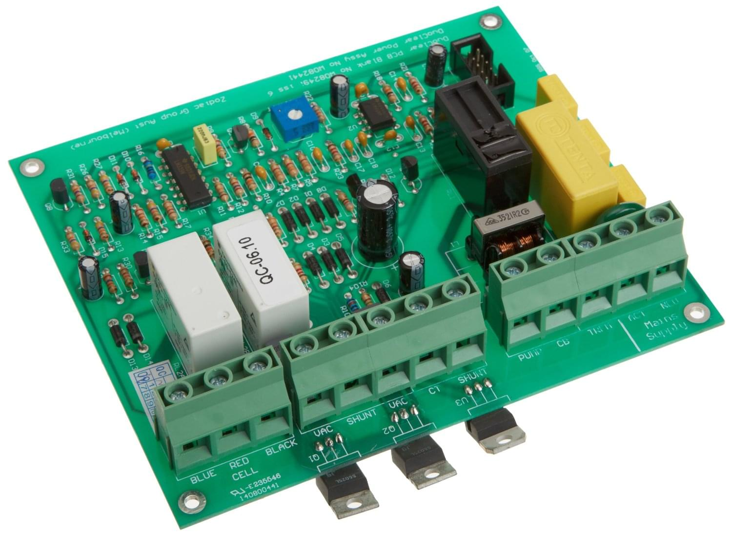 Zodiac W082441 Power Printed Circuit Board Assembly