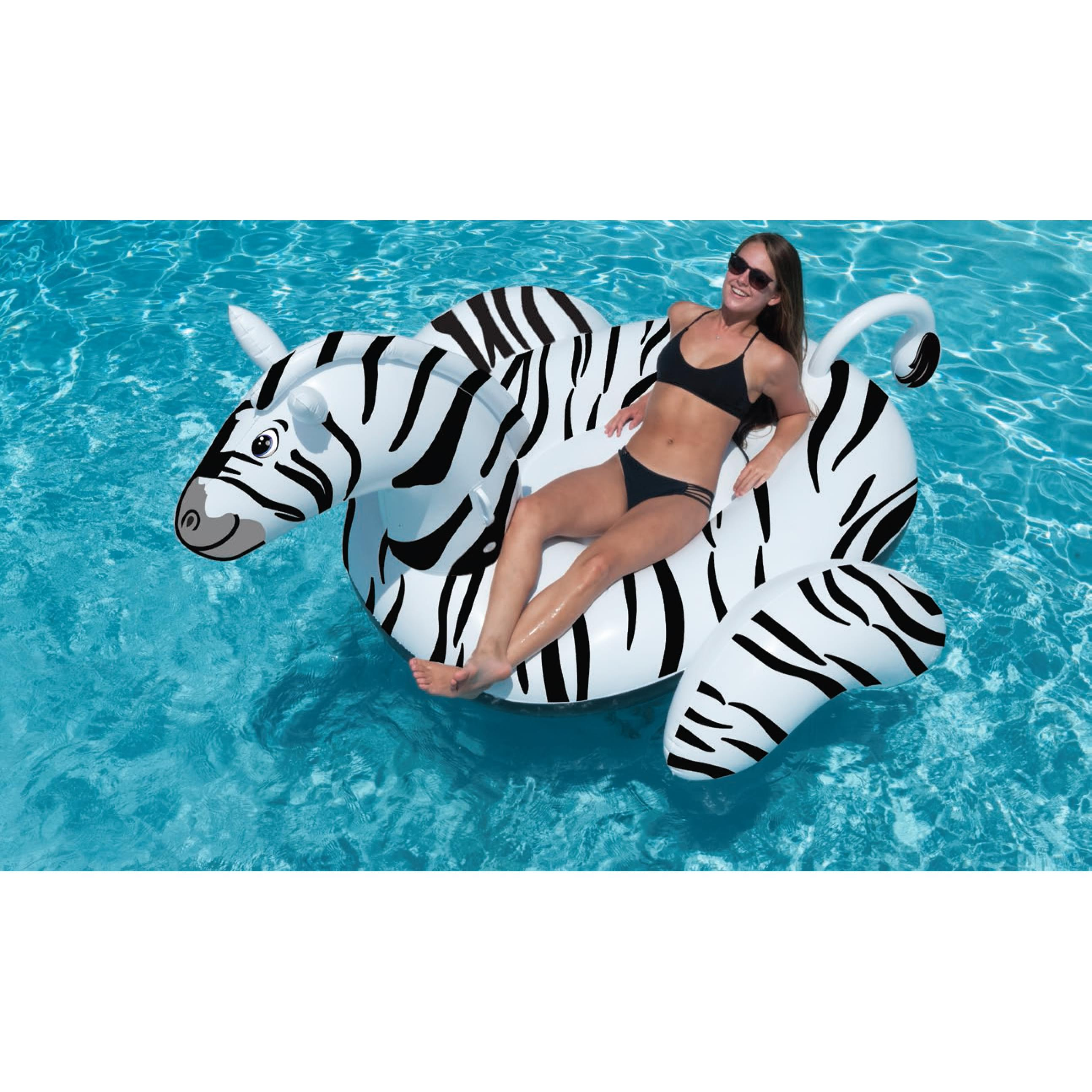 Giant Zebra Ride On Pool Float Pool Supplies Canada