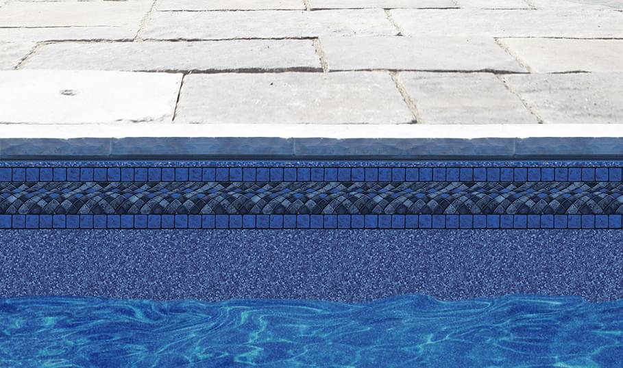 Rectangle inground liner pool supplies canada for Blue water parts piscine