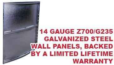 Rugged Walls with Limited Lifetime Warranty