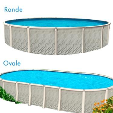 Opus magasin piscine canada for Piscine ovale hors terre