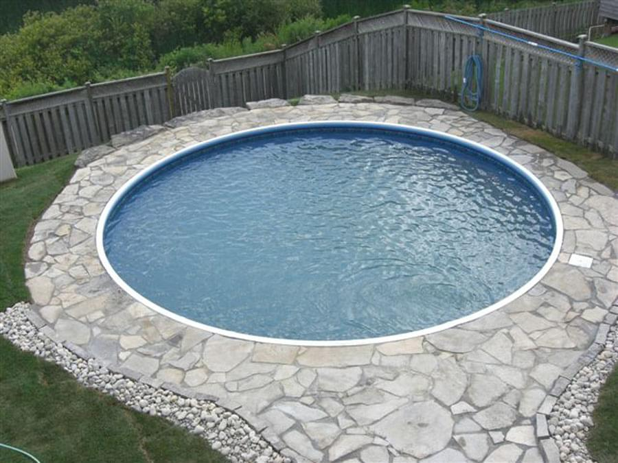 Semi Inground Swimming Pools Canada Joy Studio Design