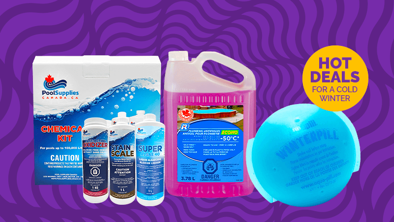 Close Your Pool Properly with Top Quality Winterizing Chemicals from Pool Supplies Canada