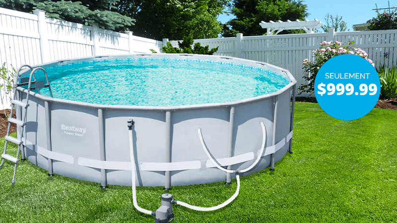 Shop and Save on the Bestway Power Steel Above Ground Pool from Pool Supplies Canada