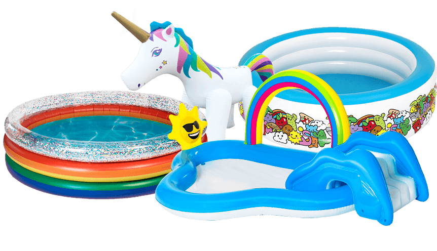 Kiddie Pools and Activity Centres