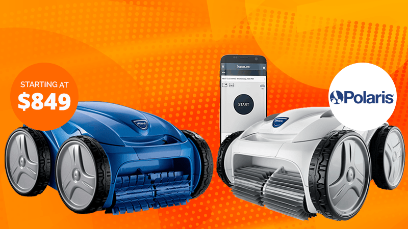 Shop Canada's Best Selection of Robotic Pool Cleaners on Sale Now