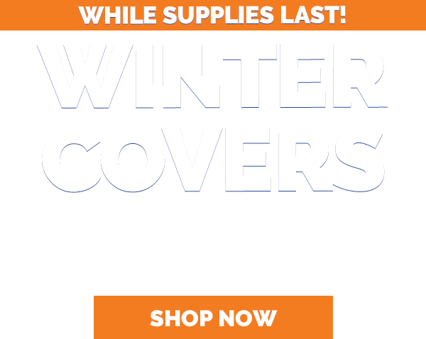 Winter Pool Covers Are Back in Stock Now, Only at Pool Supplies Canada