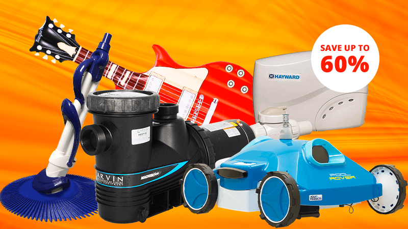 Shop End of Season Scratch and Dent and Clearance Offers from Pool Supplies Canada
