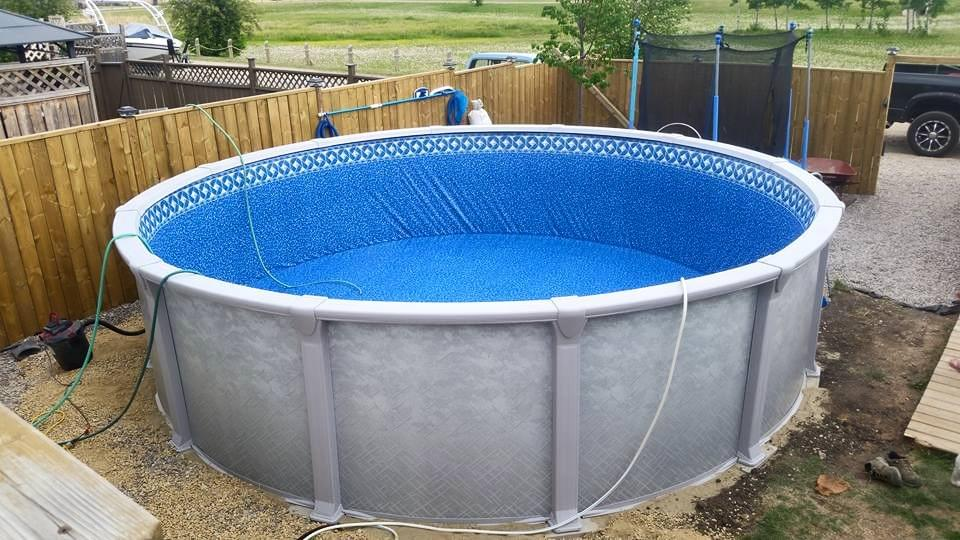 new above ground pool start up