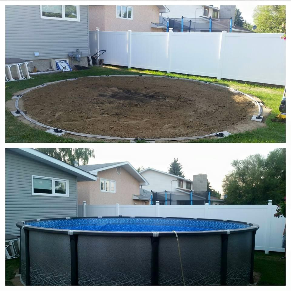 Aboveground pools sharp home design for Above ground pool equipment