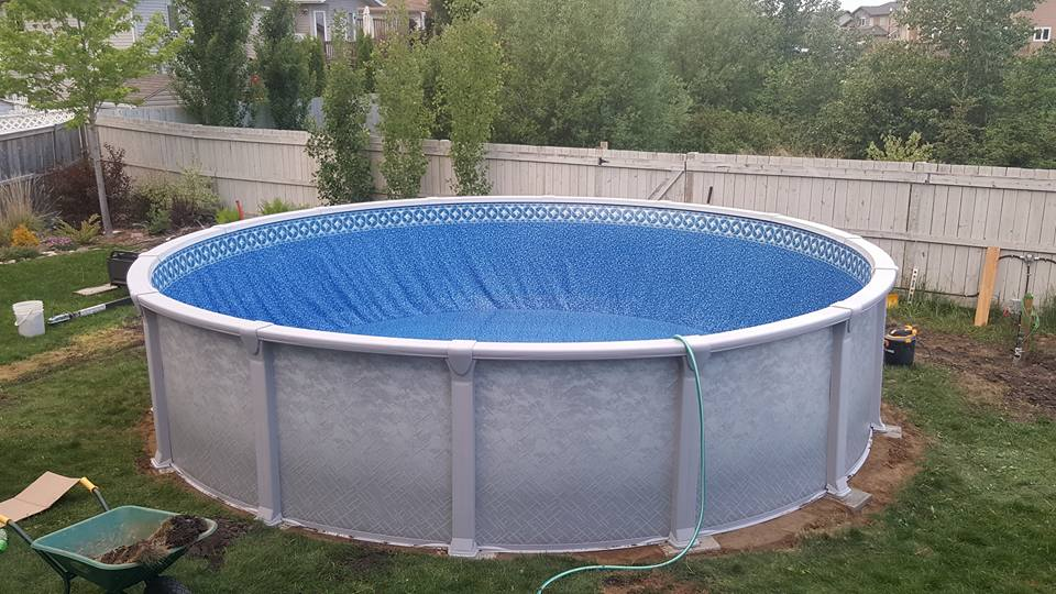 Above ground pools pool supplies canada for Above ground pool kits