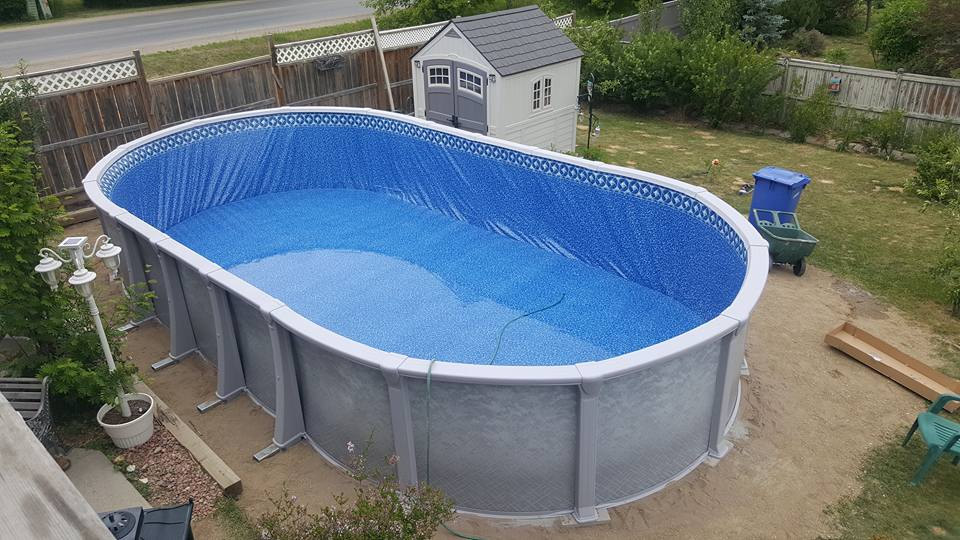 Above ground pool gallery pool supplies canada for In ground pool companies