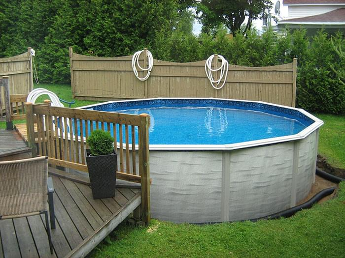 Above ground pools pool supplies canada for In ground pool companies