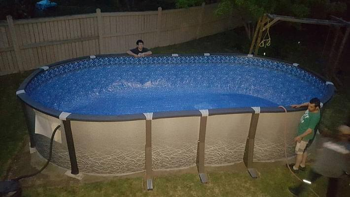Above Ground Pools Image Gallery Image