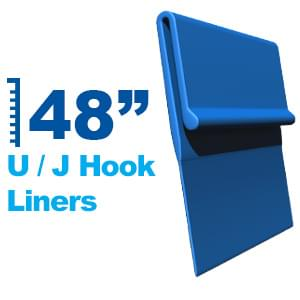 UJ Hook Liners for 48 Inch Pool Wall Heights