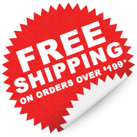Free Shipping on Orders Over 199