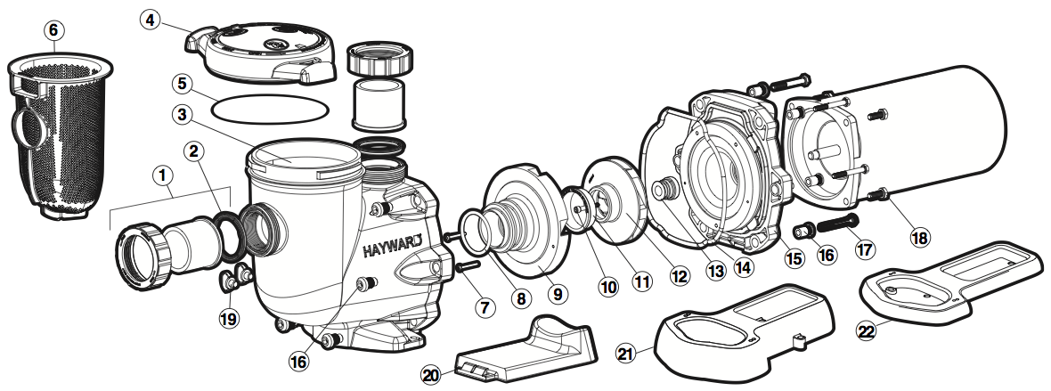 Hayward Spx4000fg Drain Plug With Gasket Pool Supplies