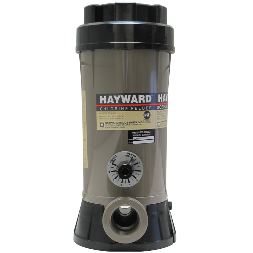 Hayward 9 Lb In Line Chemical Feeder Pool Supplies Canada