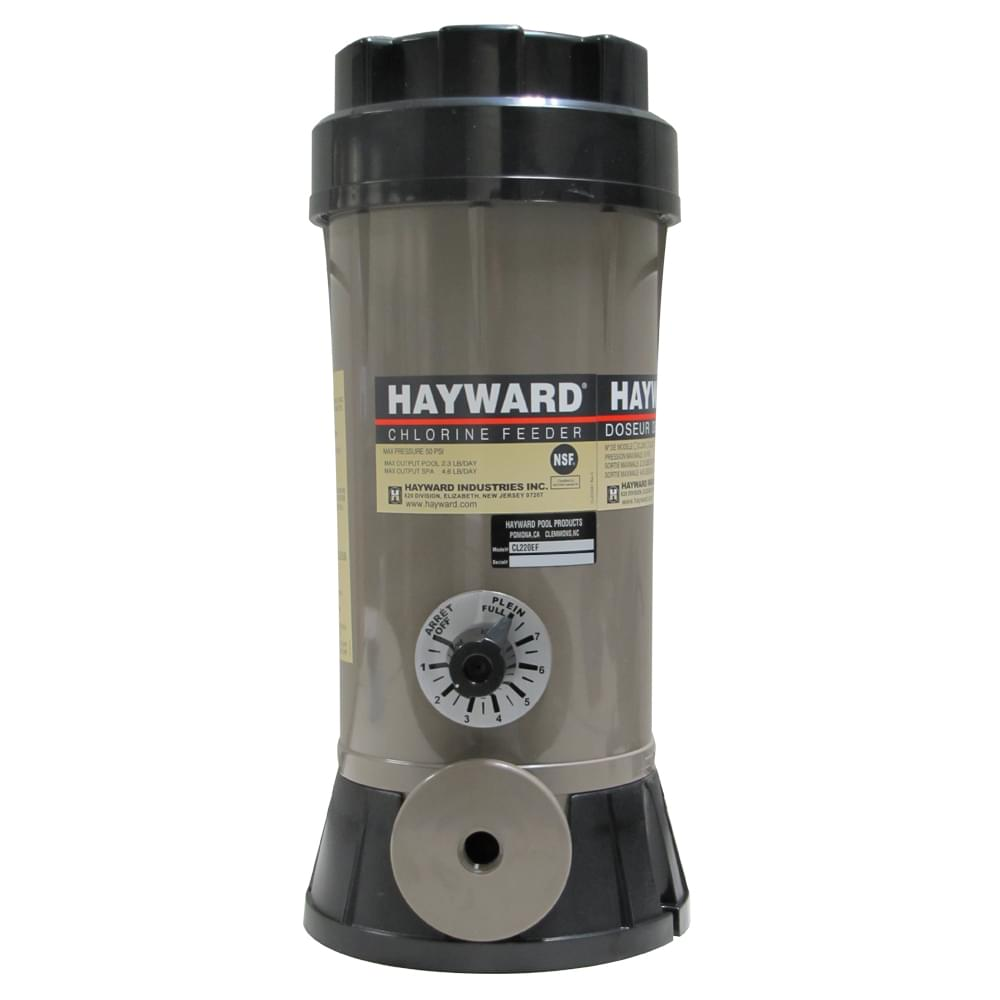 Hayward 9 lb off line chemical feede pool supplies canada - Hayward pool equipment ...