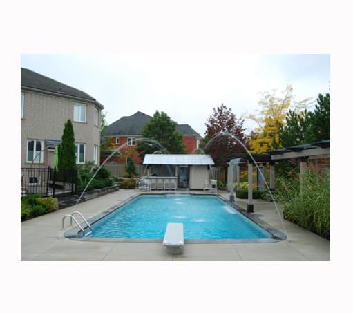 12 X 24 Ft Rectangle 2 Ft Round Corners Basic Pool