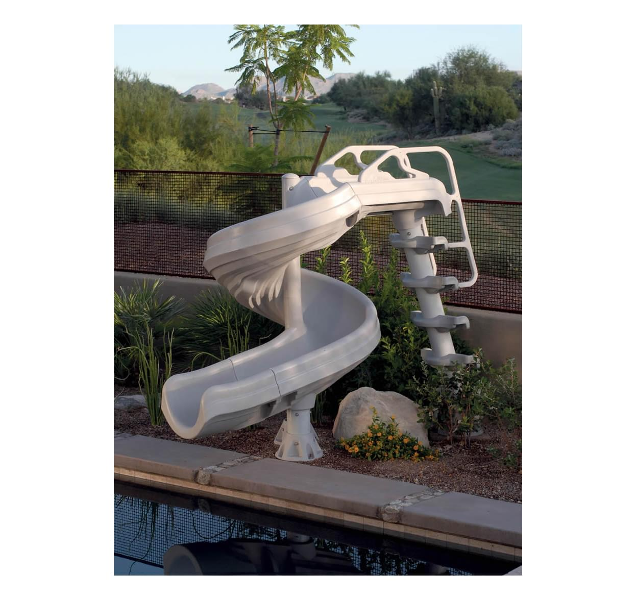 Glissade inter fab g force pour pisci magasin de piscine for Chauffe eau solaire pour piscine hors terre