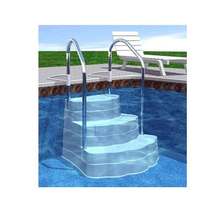 Accessories Ladders And Steps Steps Inground Steps Inground Drop In Steps Oasis