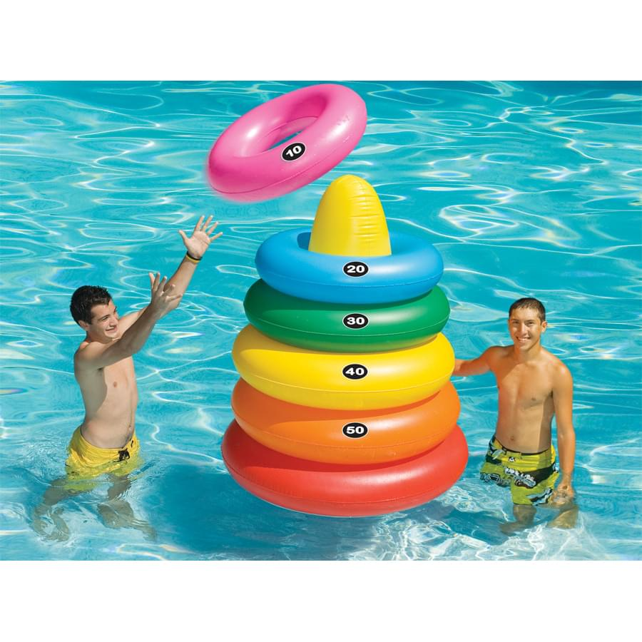 Giant Ring Toss Pool Game
