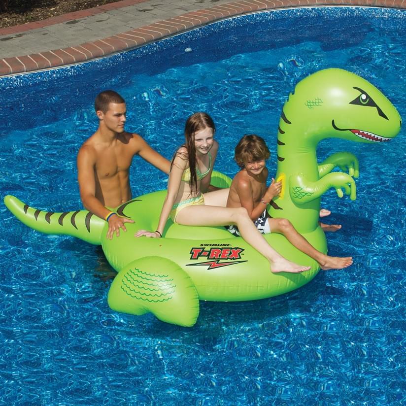 T-Rex Ride-On Pool Float