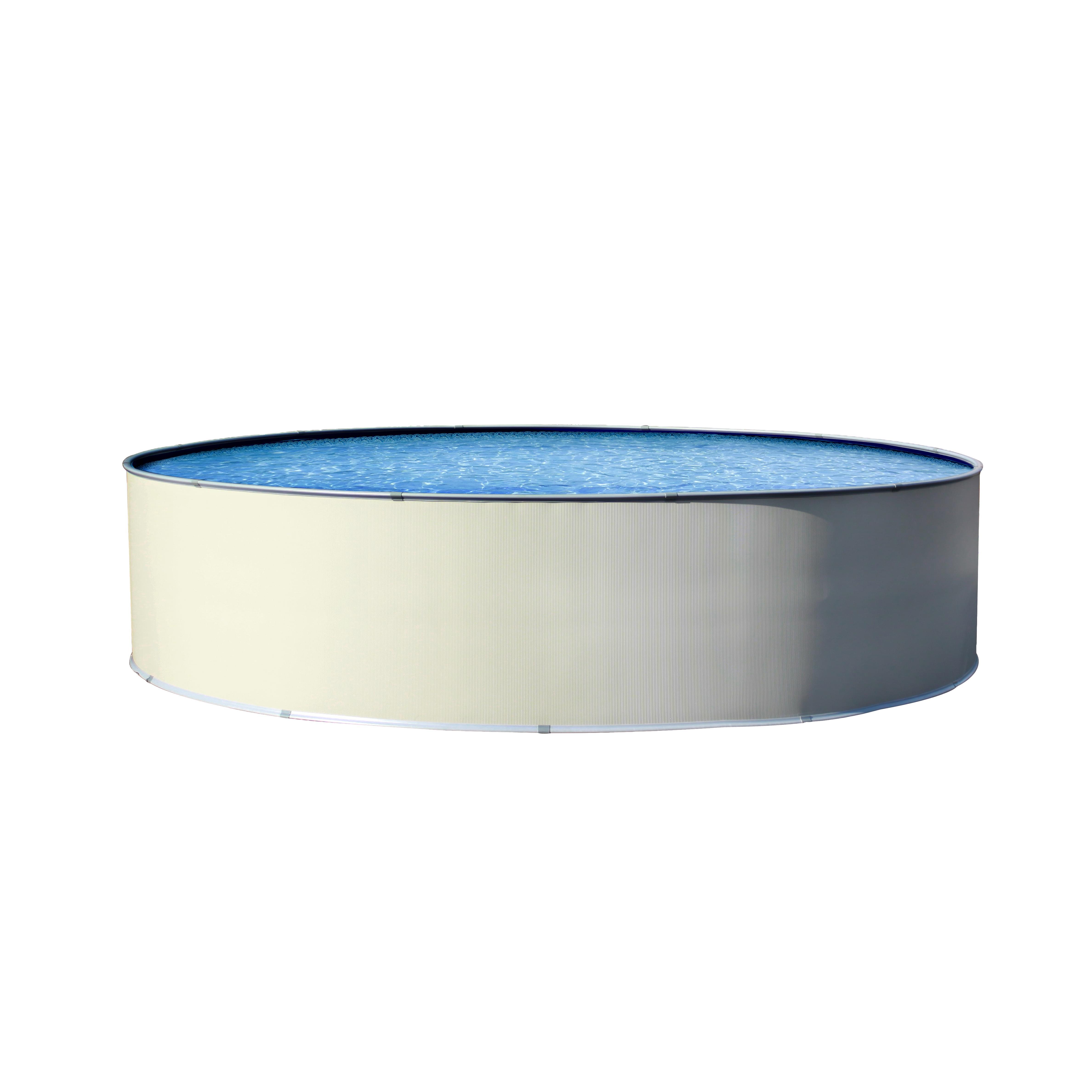 Simplicity 21 pied ronde piscine hors terre forfait for Chauffe eau pour piscine hors terre