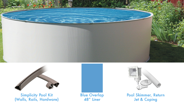 Pool Kits Above Ground Pools Simplicity