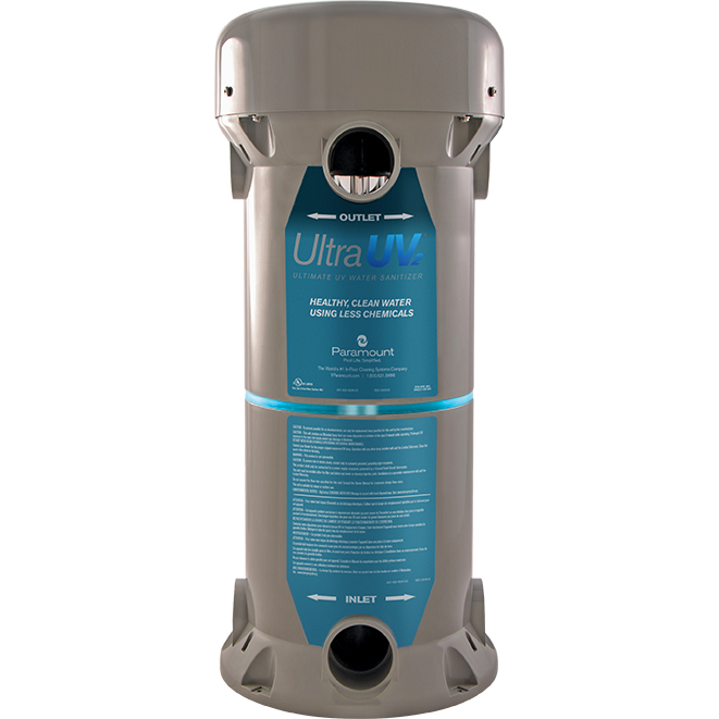 Paramount Ultra Uv2 Water Sanitizer 120v 2 Uv Lamps