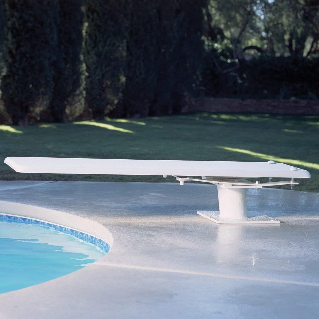 8 ft frontier iii diving board only