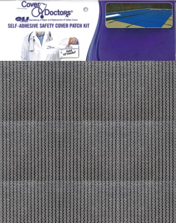 Safety Cover Repair Patch Grey Sunshade Mesh 95 Pool