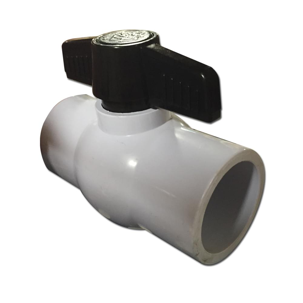 Inch pvc ball valve with female sockets pool