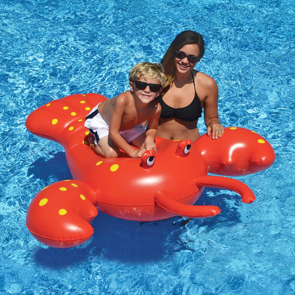 Giant Rock Lobster Ride-On Pool Float