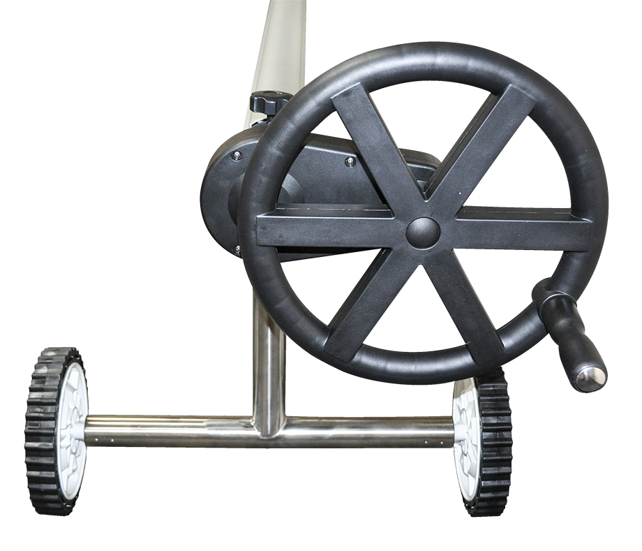Presto Wheel Gear Inground Solar Roller With 16 Ft Tube