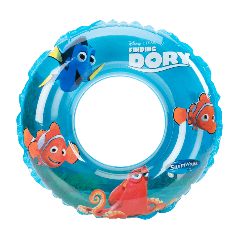 Disney Characters 3-D Swim Ring