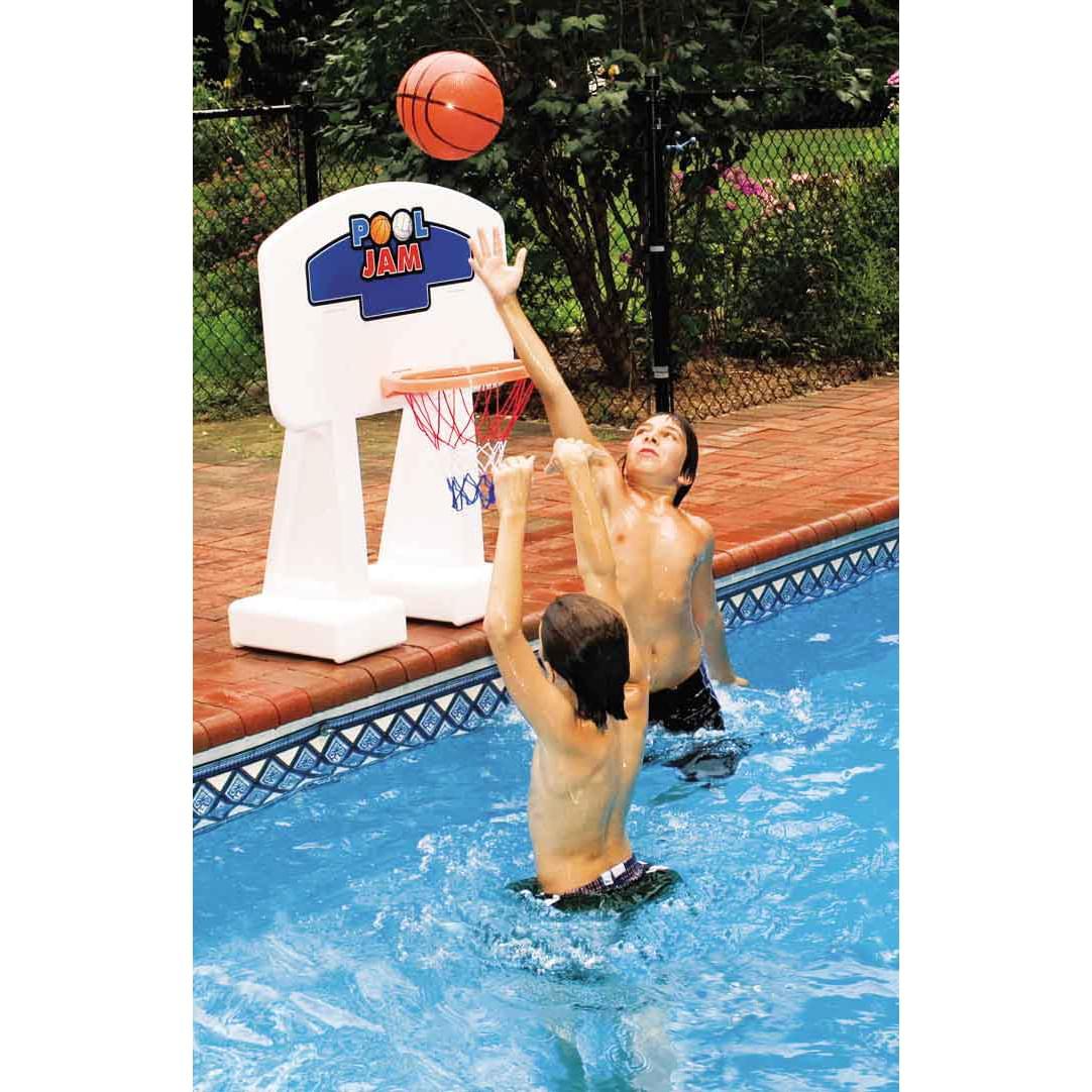 Pool Jam Basketball Set for Inground Pools