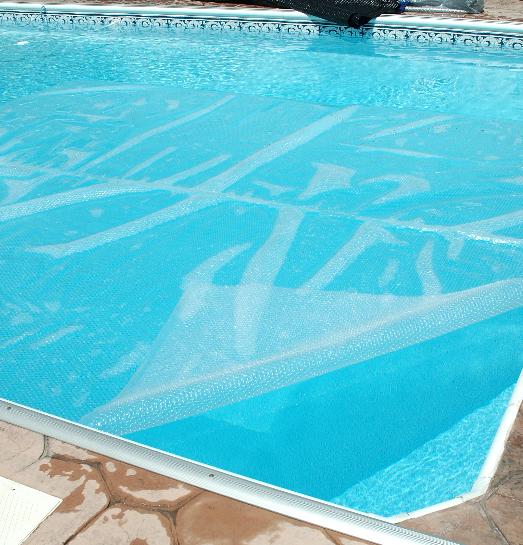 Toile solaire clear premium 24 pieds ronde 12 mil pool for Toile solaire piscine prix