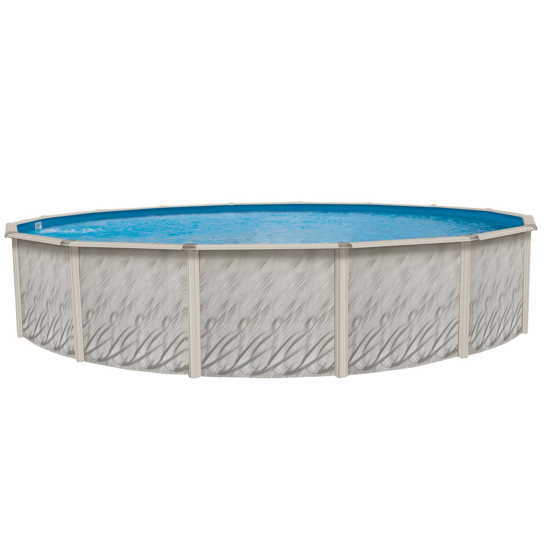 Piscine hors terre esprit 12 pieds ronde pool supplies for Chauffe eau pour piscine hors terre