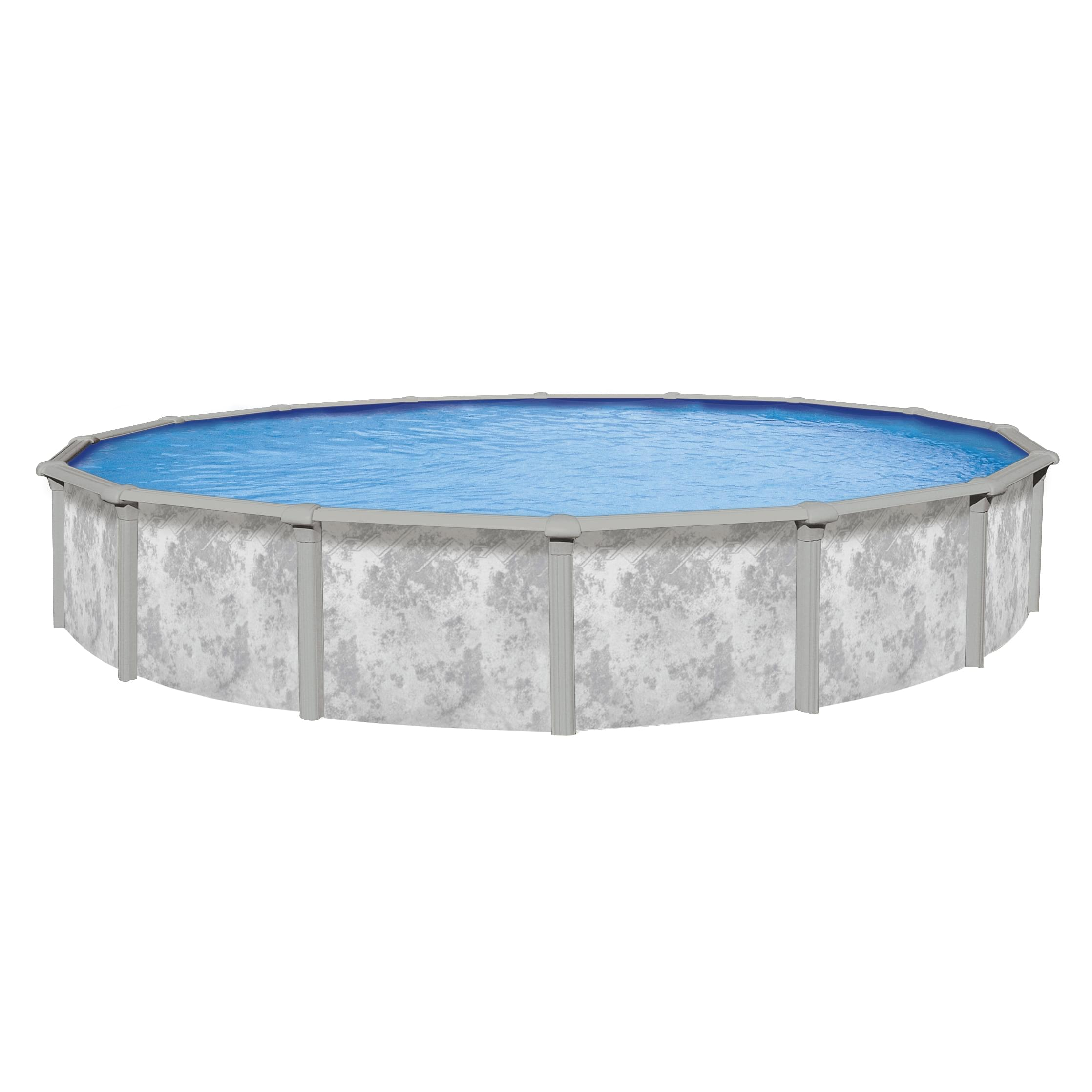 21 ft round j3000 above ground pool with 52 inch for Chauffe eau solaire pour piscine hors terre