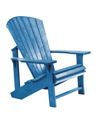 Adirondack Resin Chair Blue Pool Supplies Canada