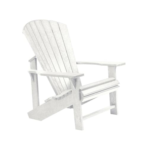 adirondack upright resin chair white pool supplies canada. Black Bedroom Furniture Sets. Home Design Ideas
