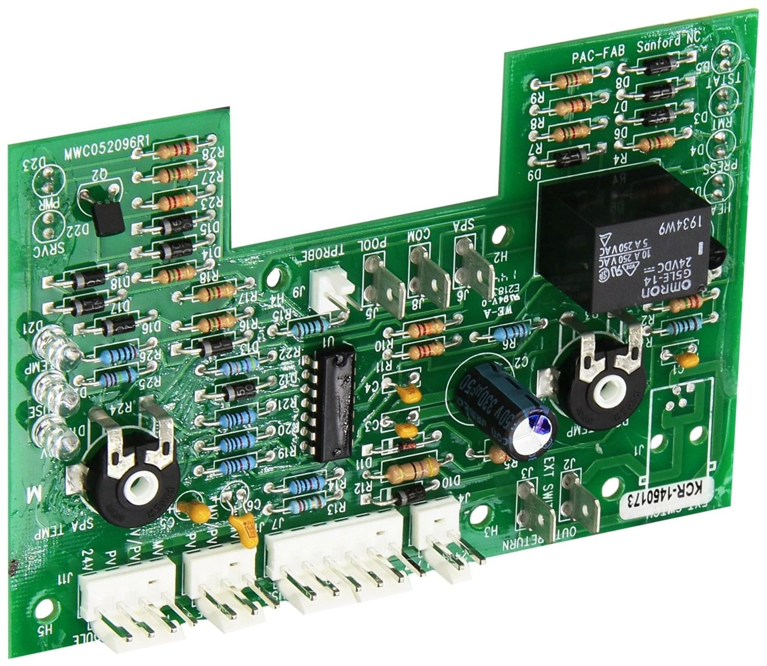 Pentair 470179 Electronic Thermostat Circuit Board