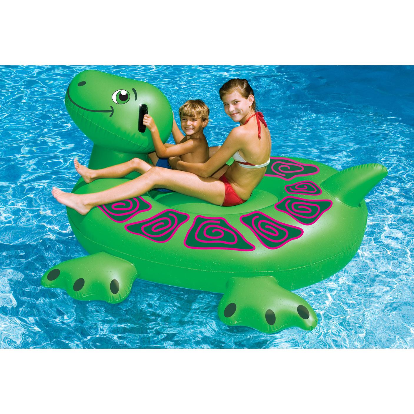 Turtle Ride-On Pool Float