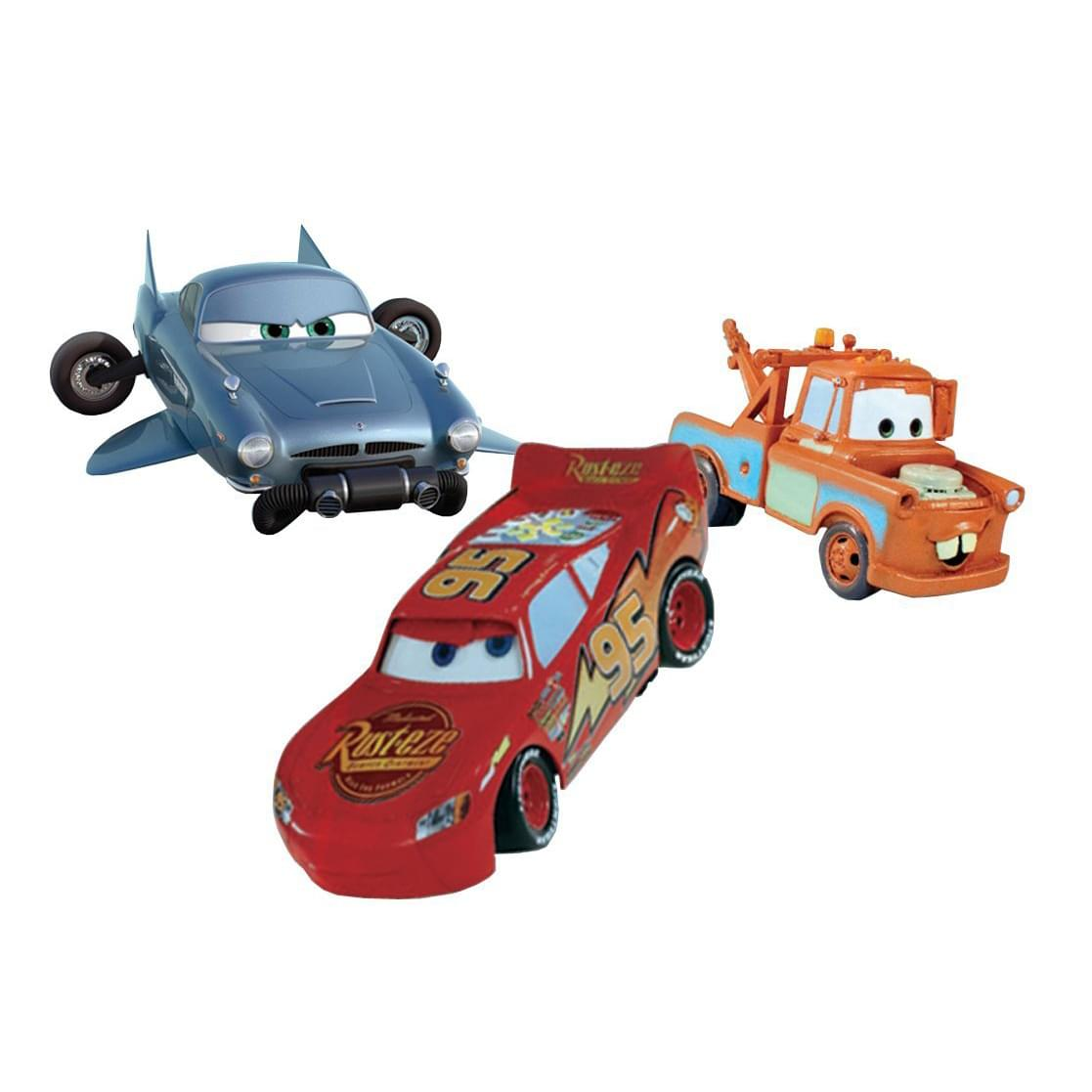 Cars Diving Characters