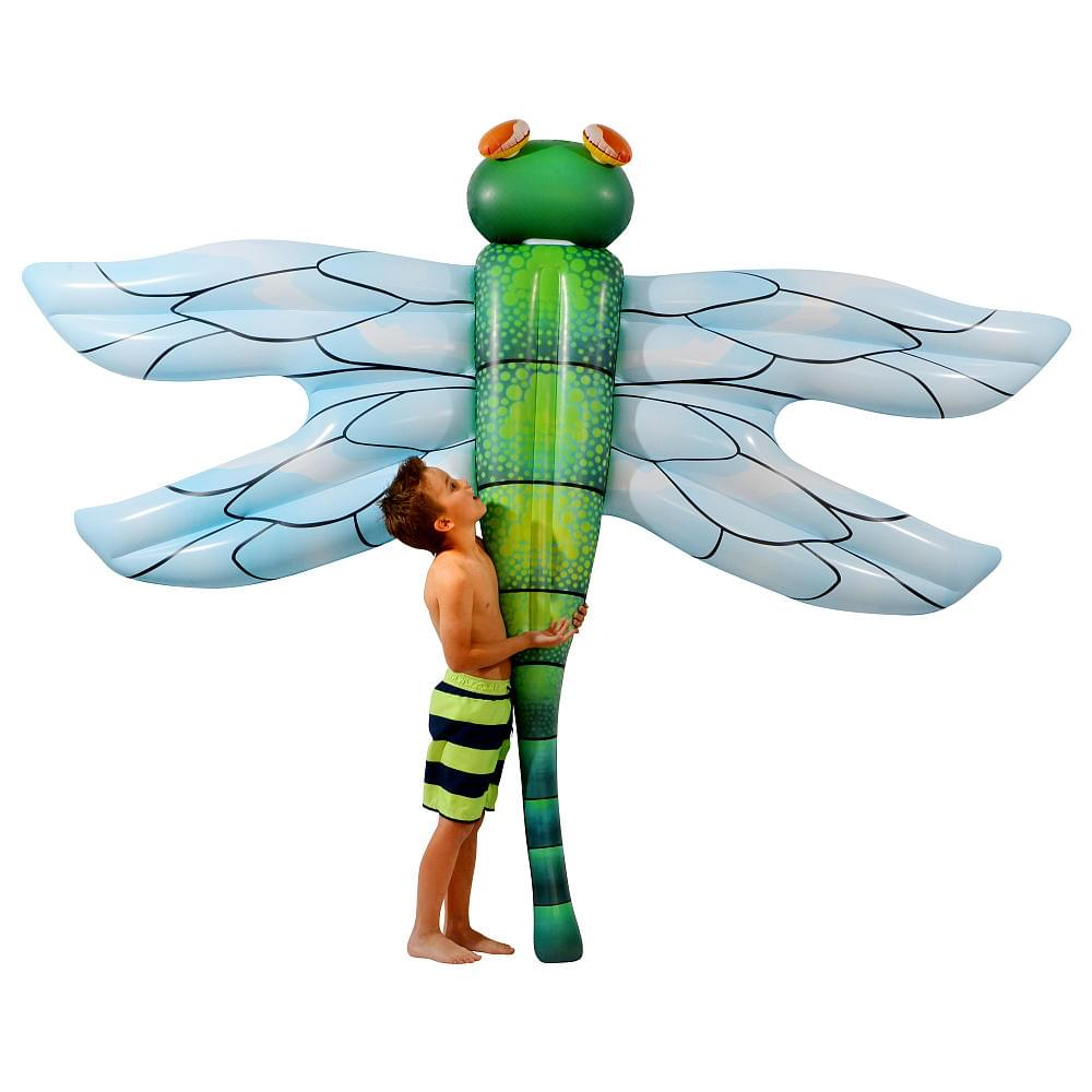 Giant Dragonfly 8.75 ft Ride-On Pool Float