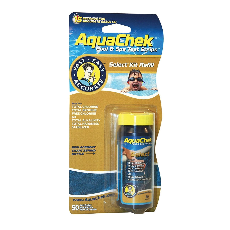 Aquachek Select 5 In 1 Test Strip Refill Pack 50 Strips Pool Supplies Canada